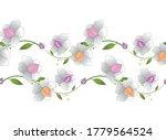 seamless creative vector floral ...   Shutterstock .eps vector #1779564524