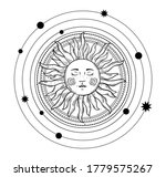 vector illustration in vintage... | Shutterstock .eps vector #1779575267