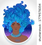 illustration of aquarius... | Shutterstock .eps vector #1779578354