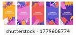set of  backgrounds  social...   Shutterstock .eps vector #1779608774