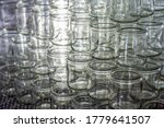 Many Glass Jar Empty Glasses...