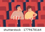 surprised  interested young man ... | Shutterstock .eps vector #1779678164