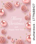 christmas background with...   Shutterstock .eps vector #1779688427