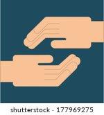 teamwork design over  blue ...   Shutterstock .eps vector #177969275