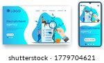 recruitment agency.people the... | Shutterstock .eps vector #1779704621
