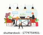 social distancing for...   Shutterstock .eps vector #1779754901