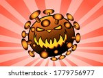 disease bacteria virus  cartoon ... | Shutterstock .eps vector #1779756977