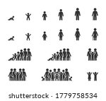 vector set of life cycle flat... | Shutterstock .eps vector #1779758534