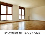empty interior room and two... | Shutterstock . vector #177977321