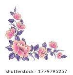 floral background. flower rose...   Shutterstock .eps vector #1779795257
