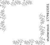 herbal black minimalistic... | Shutterstock .eps vector #1779815351
