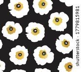 seamless vector pattern white... | Shutterstock .eps vector #1779815981