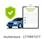 car insurance policy finance... | Shutterstock .eps vector #1779897377