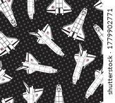 Vector Space Shuttles In Black...