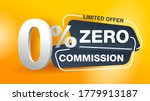 0 zero commission special offer ... | Shutterstock .eps vector #1779913187