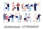 arab business people. saudi man ...   Shutterstock .eps vector #1779934937