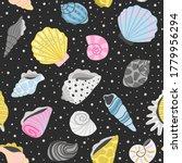 ocean seashells seamless... | Shutterstock .eps vector #1779956294
