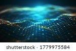 Abstract Technology  Big Data...