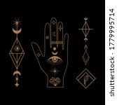 mystical celestial illustration ...   Shutterstock .eps vector #1779995714