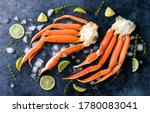 Fresh Crab Claws  Lime  Spices  ...