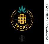 tropic logo. tropic spa hotel... | Shutterstock .eps vector #1780233251