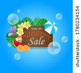 summer sale poster promotion...   Shutterstock .eps vector #1780234154