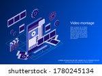 mobile video production ... | Shutterstock .eps vector #1780245134