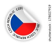 vector white bent sticker with... | Shutterstock .eps vector #178027919