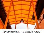 Orange Translucent Roof Or...