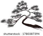 vector illustration of pine... | Shutterstock .eps vector #1780387394