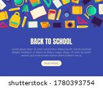 back to school landing page... | Shutterstock .eps vector #1780393754