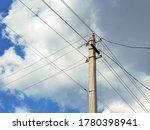 Electric Concrete Pillar...
