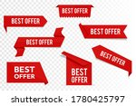 set best offer tags  vector...   Shutterstock .eps vector #1780425797