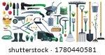garden tools and equipment... | Shutterstock .eps vector #1780440581