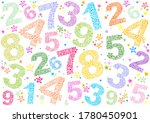 white seamless background with... | Shutterstock . vector #1780450901