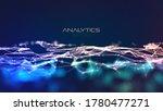modern illustration with plexus ... | Shutterstock .eps vector #1780477271