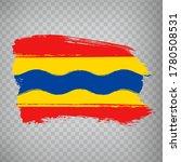 flag of overijssel brush...