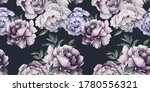 seamless floral pattern with... | Shutterstock . vector #1780556321
