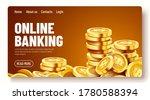 golden shiny coins. big bunch... | Shutterstock .eps vector #1780588394