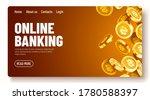 falling coins  falling money ... | Shutterstock .eps vector #1780588397