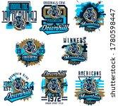 logo collection vector...   Shutterstock .eps vector #1780598447