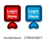 login here register web button...
