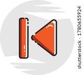 media player icon set. set of...