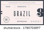 minimal label. typographic... | Shutterstock . vector #1780703897