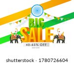 3d Big Sale Text With 40 65 ...