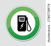electric charging station... | Shutterstock .eps vector #1780728974