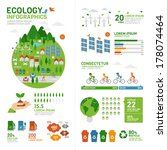 ecology infographic | Shutterstock .eps vector #178074464