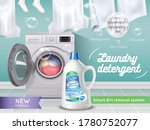 laundry detergent realistic and ...   Shutterstock .eps vector #1780752077