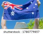 Girl Holding The Australian...