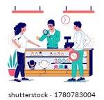 jewelry store  vector flat...   Shutterstock .eps vector #1780783004